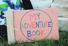 my adventure book - keeping a journal to record their summer by Crazy little projects Projects For Kids, Diy For Kids, Crafts For Kids, Children Crafts, Toddler Preschool, Toddler Crafts, Summer Journal, Summer Activities, Baby Activities