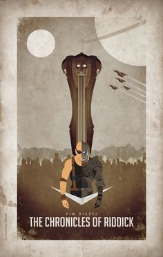The Chronicles of Riddick - movie poster - Barbarian Factory