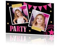 Uitnodigingskaart verjaardag