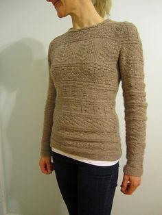 Ravelry: Project Gallery for Sweet Little Gansey pattern by Boadicea Binnerts