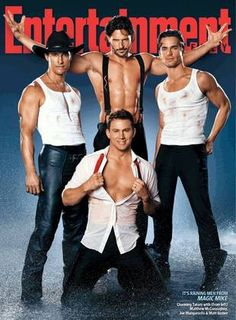 OMG lol very yummy....Cant wait til movie.  Matthew McConaughey, Channing Tatum, Joe Mantangiello, and Matt Bomer
