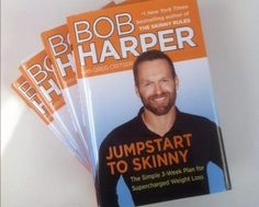 Lose up to 20 pounds in 21 days with Bob Harper's dynamic new diet book. Get the skinny in the article: http://www.examiner.com/article/lose-20-lbs-21-days-with-bob-harper-s-jumpstart-to-supercharged-weight-loss