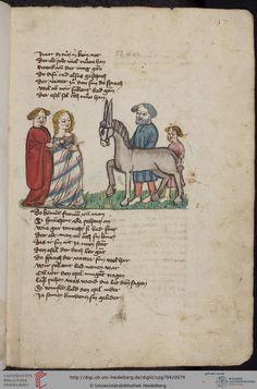 Cod. Pal. germ. 794: [Ulrich] Boner: Edelstein (Schwaben (Oberrhein? [Upper Rhine?]), um 1410/1420), Fol 37r