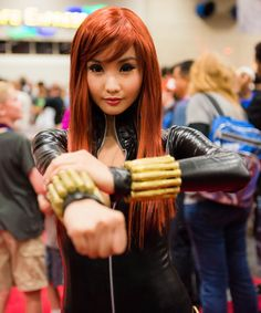 Alodia Gosiengfiao - Black Widow (by icemanx62)