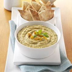 Rich homemade hummus gets accented with the sweetness of golden ...