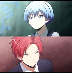 25/25 karma and Nagisa assassination classroom