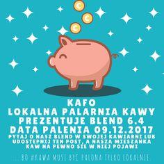 ... bo #kawa musi być palona tylko lokalnie.      #KAFO data palenia: 09 grudzień 2017 (blend 6.4)