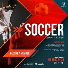 Football plays vectors and photos - free graphic resources Sports Flyer, Sports Games, Kids Sports, Desgin, Soccer Backgrounds, Female Runner, Fitness Flyer, Soccer Tournament, Flyer Free