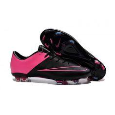 Cheap Nike Mercurial Vapor X FG Black Hyper Pink,www.cheapshoesoccer.com