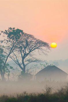 Urban Sunrise In Myanmar, Zay Yar Lin