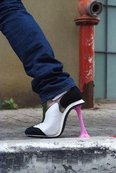 gum high heels
