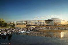 Northwestern Lakefront Athletics and Recreation Complex | Architect Magazine | Perkins+Will, HOK, Evanston, Illinois, Sports, Education, Sports Projects, Northwestern University