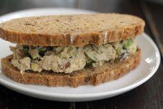 Vegan Chickpea Salad #veggieangie