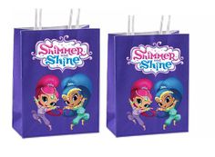 Shimmer and Shine inspired party Shimmer and Shine favor bags Set