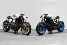 Le Café Racer de BMW est passé entre les mains de l'artiste munichois Philipp Wulk, ayant accouché de deux versions retravaillées du 4 cylindres.
