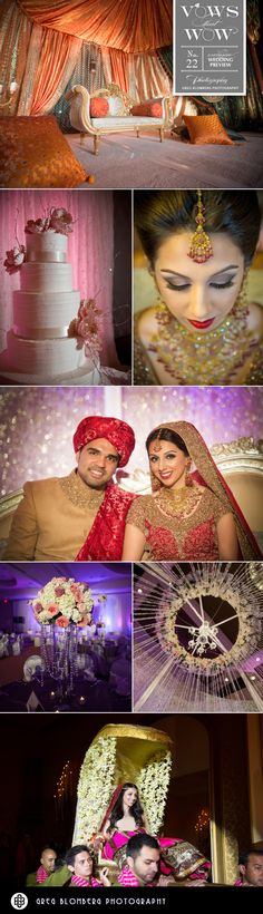 Such a beautiful Indian wedding from Events by Hala! Photography by Greg Blomberg #wedding #indian #ornate #glamorous