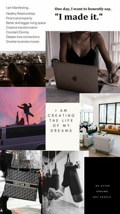 Classy Aesthetic, Aesthetic Collage, Motivacional Quotes, Healthy Lifestyle Motivation, Healthy Relationships, The Life, Girls Life, Study Motivation, Dream Life