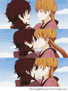Tonari no kaibutsu-kun. Haru Yoshida and Shizuku Mizutani Shizuku And Haru, Shizuku Mizutani, My Little Monster, Little Monsters, Slice Of Life, I Love Anime, Awesome Anime, Anime Kiss, Manga Anime