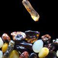 Makena Sand grains under the microscope microscopic sand photography art photo microscopy artwork