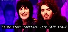 Goth Detectives, Noel Fielding & Russell Brand.
