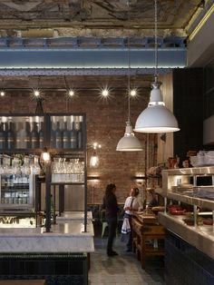 Jamie's Italian - Leeds | Jamie Oliver's restaurant designed by Stiff and Trevillion Architects: