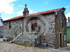 (C) Celia Ascenso - Rural stone house in a village in Braganca, Portugal.