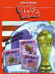 Ping Pong..94 Fifa World Cup, Video Game, Baseball Cards, Artwork, Nostalgia, Antique Toys, Weather, Chewing Gum, Picture Cards
