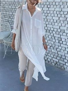 2020 🌟Uoozee Look🌟 – Page 3 – uoozee Mature Fashion, Trendy Fashion, Fashion Looks, Fashion Trends, Anniversary Outfit, Western Look, Bodycon Dress With Sleeves, Oversized Dress, Linen Dresses