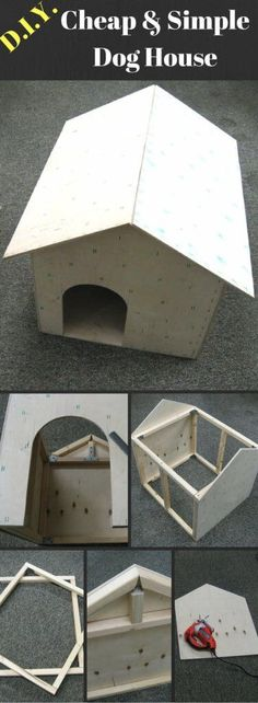 DIY Cheap & Simple Dog House
