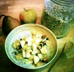 Herbstlicher Getreidebrei | one healthy life