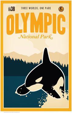 Olympic National Park by Matt Brass