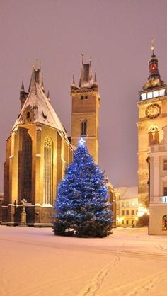 Kostel sv. Ducha a Bílá věž  Hradec Králové