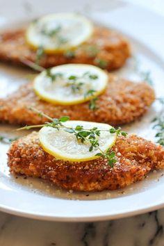 Easy Lemon Chicken - Damn Delicious Johnson Johnson Butts-Ah Rhee Think Food, I Love Food, Good Food, Yummy Food, Turkey Recipes, Chicken Recipes, Dinner Recipes, Recipe Chicken, Cooking Recipes