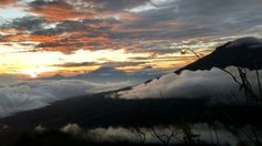 Sunrise mount sindoro