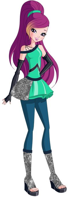 Roxy Season 8 Space Outfit by Rosesweety on DeviantArt Winx Club, Regal Academy, Space Outfit, Today Is My Birthday, Star Wallpaper, Club Design, Season 8, Equestria Girls, Traditional Art