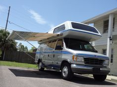 wholesaleingfla : Airstream 190 Class B Motorhome Trans Conversion Truck Camper Ford Van LOOK!