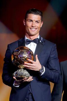 Cristiano Ronaldo Ballon D'or 2015 | ©