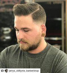 #Repost @jerrys_oldtyme_barbershop with @repostapp ・・・ #barber #barbers #barbershop #nastybarbers #thebarberpost #freshcut #fade #sharpfade #nicestbarbers #barbergang #barberlife #combover #barbering #barberlifestyle #barberworld #barberhub #cleancut #taper #skinfade #menshair #barberlove #showcasebarbers #barbersince98 #barbersinctv #barbernation #barbergrind #barbershopconnect #hair #pompadour