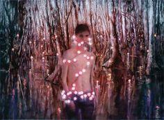 attila szucs, stars in a moorland, oil on canvas, 140x190cm 2015