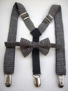 bow tie and suspenders for toddler boy  linen in by golubchick, $40.00, y is it not in my size?