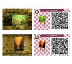 Animal Crossing QR Code: Art