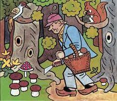 Výsledek obrázku pro josef lada vodník Children's Book Illustration, Painters, Childrens Books, Illustrators, The Past, Clip Art, Watercolor, My Favorite Things, Retro