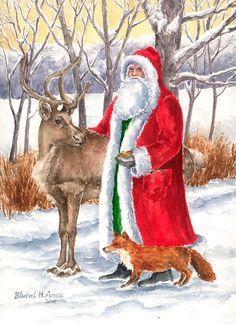Father Christmas • Barbel Amos