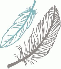 indian feather silhouette - Google Search