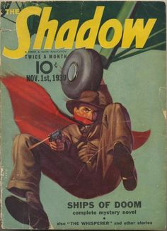 Shadow Magazine Vol 1 #185 November, 1939