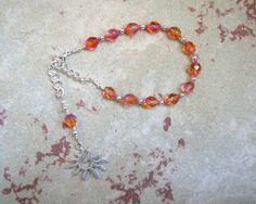 Eos Prayer Bead Bracelet: Greek Goddess of by HearthfireHandworks
