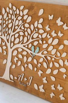 Wedding Guest Book Alternative 3D guest book par TotallySalinda