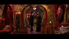 Satine's Elephant room in Moulin Rouge