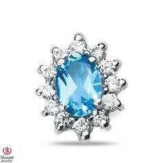 Ebay NissoniJewelry presents - Ladeis 1/4CT Diamond Earrings with Blue Topaz in 10k White Gold    Model Number:EV5091E-W077BT    http://www.ebay.com/itm/Ladeis-1-4CT-Diamond-Earrings-with-Blue-Topaz-in-10k-White-Gold/221630218021