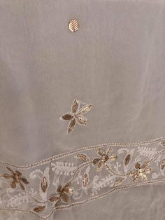 Gota Patti Suits, Off White Color, Sleeve Styles, Hand Embroidery, Pure Products, Colour, Fabric, Image, Dress